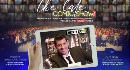 LATE COMIC SHOW l'émission LIVE