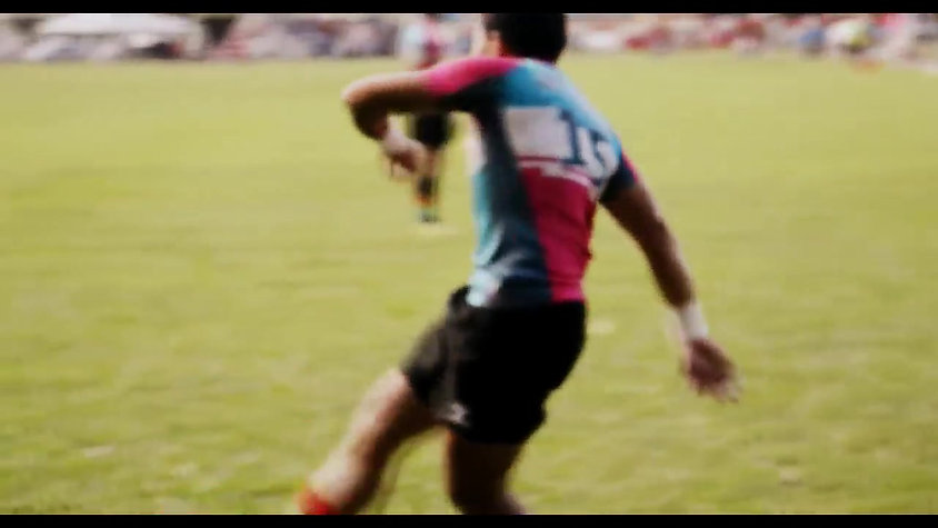 Keris Conlay - In Motion. Credit to Tackle Rugby