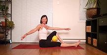 Pilates flow avancé - avec ballon # 1