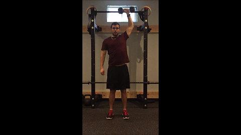 Shoulder Press - 1 Arm DB