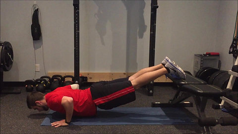 Push Up - Incline