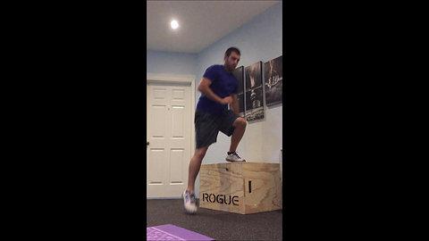 Box Jump - Lateral