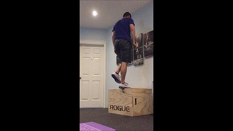 Box Jump - Single Leg