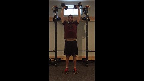 Shoulder Press - Neutral Grip