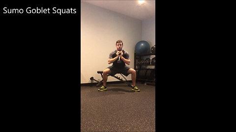 1 DB Workout - Legs