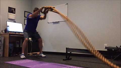 Battle Rope - Double Arm