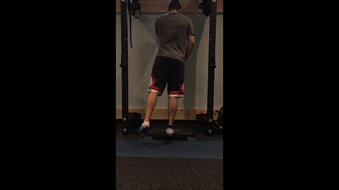 Calf Raises - 1 Leg