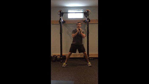 Lunge - Lateral DB