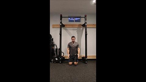 Kneeling Jump Squats