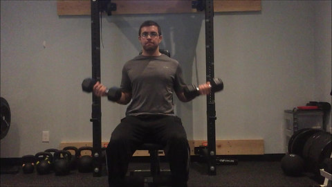 Curls - Seated DB