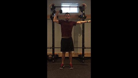 Shoulder Press - Arm Out DB
