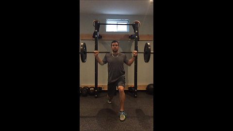 Lunge - Barbell