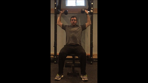 Shoulder Press - Seated DB