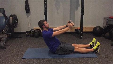 Sit Up - Straight Leg DB