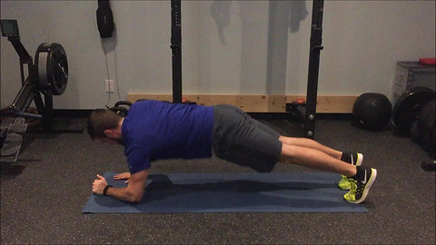 Plank - Hands to Elbows
