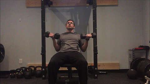 Curls - Seated Incline DB