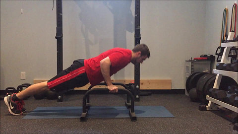 L-Sit to Push Up