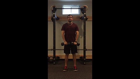Upright Row - DB