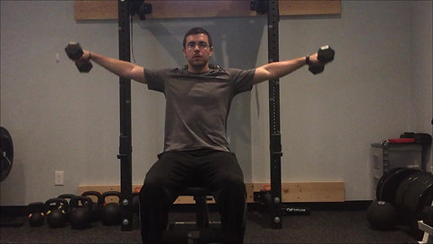 Lateral Raises - Seated DB