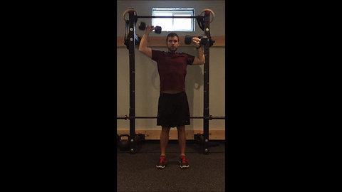 Shoulder Press - Alternate DB