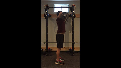Upright Row - Curl Bar