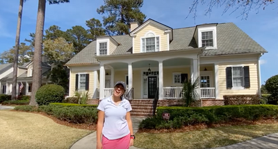 Tour G2 Golf Academy Housing with G2 Student - Lindsey
