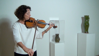 Bethan Frieze: Sounding Objects Applied to Clive Bowen and a C13 jug