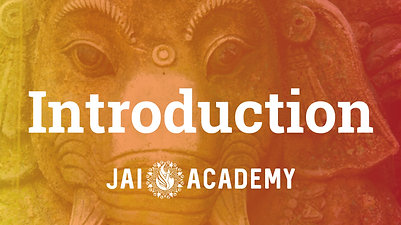 Class 1 - Jai Academy Intro - May 2020