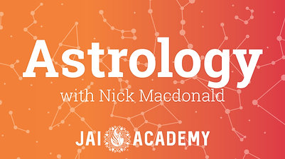 Class 3 - Astrology with Nick Macdonald, May 2020