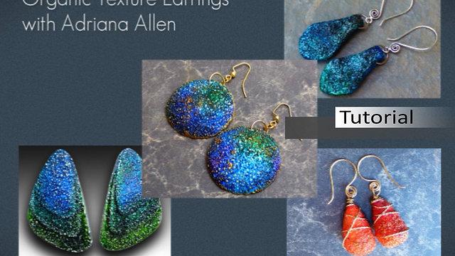 Organic Texture Earrings