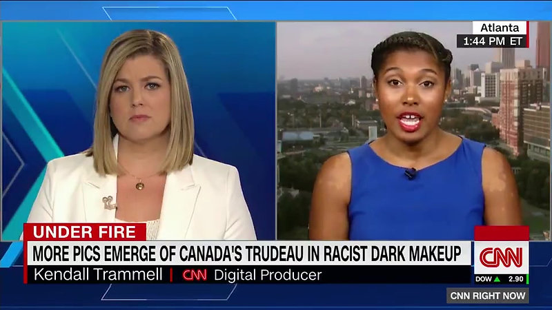 Kendall Trammell Live on CNN
