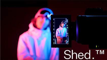 The Shed shoot- Behind the scenes