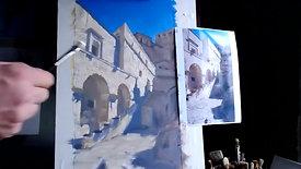 Oil Painting Architecture Part 2