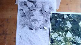 Drawing Cafe Leaf Shapes 21 6  21