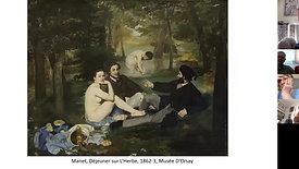 Masterpiece ona Monday Manet's Dejeuner sur l'Herbe 7 6 21