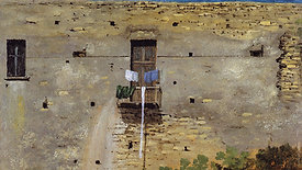 Thomas Jones's A Wall in Naples