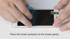 J&D HD Clear & Matte Screen Protector Installation
