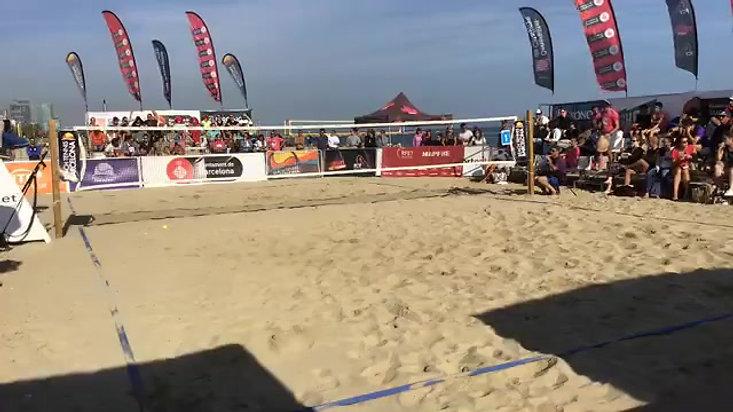 Women's final. Martina Corbara & Ninny Valentini vs Noemi Romani & Michela Romani
