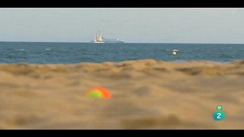 Activa 2 de TVE conoce el beach tennis
