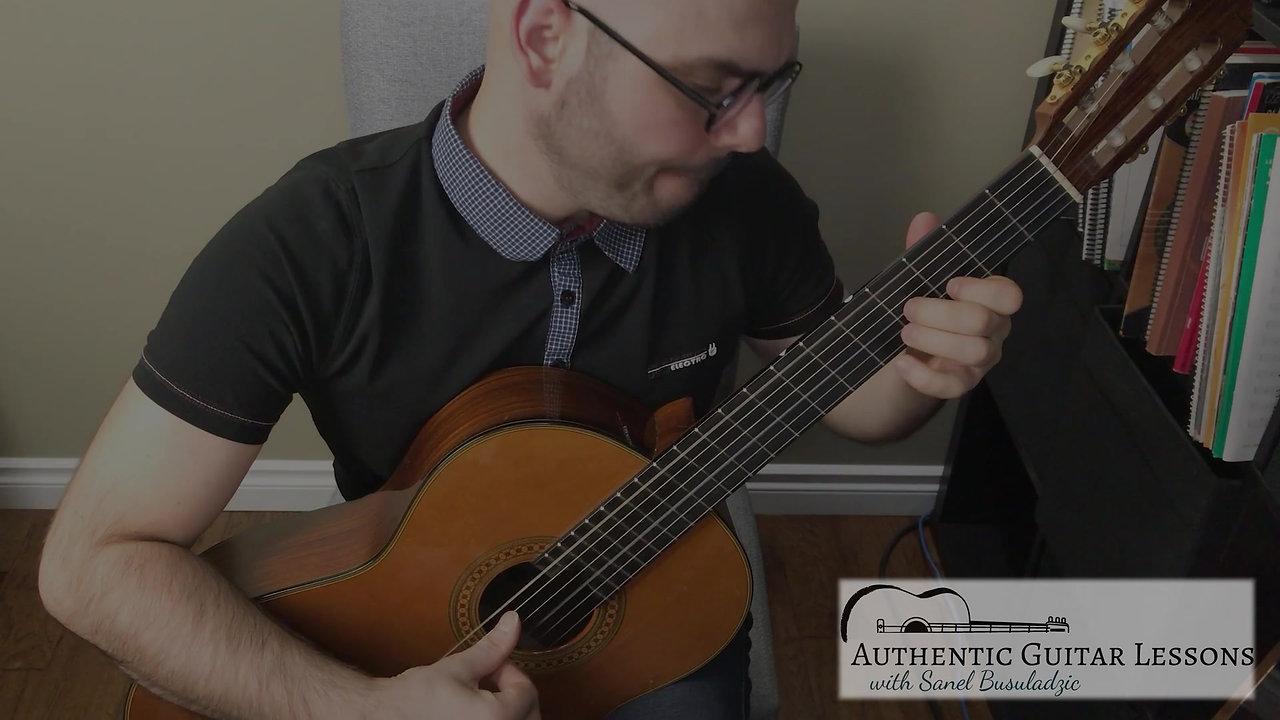 Sanel-Busuladzic-skype-guitar-lessons-Study-in-C-Taregga