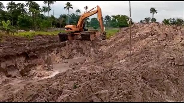 Construction of Irrigation-Fish Pond on SCIM Farm