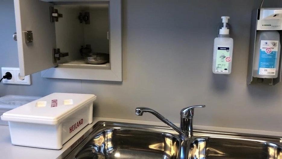 Zoneneinteilung Hygiene
