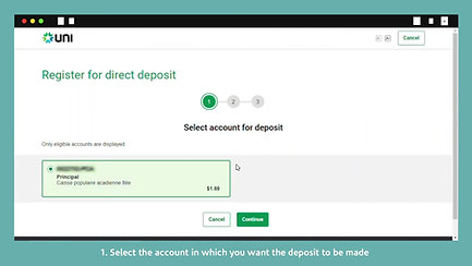 Sign up for direct deposit from the Canada Revenue Agency