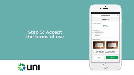 Mobile Cheque Deposit
