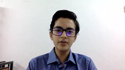 Idhant Manocha, Grade IX