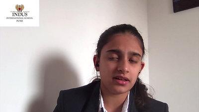 Advita Karnad, Grade IX