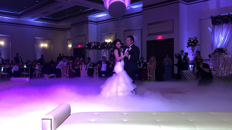 Mr. and Mrs. First Dance With our Dancing On The Cloud