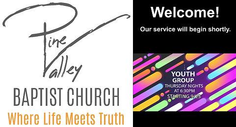 Sunday, September 12, 2021 - AM Service