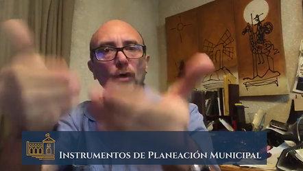 Instrumentos de Planeación Municipal