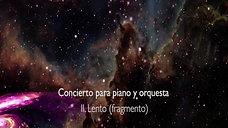 Concierto para piano y orquesta (fragmento)